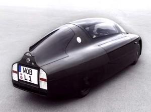 vw-1-liter-auto-ruckansicht