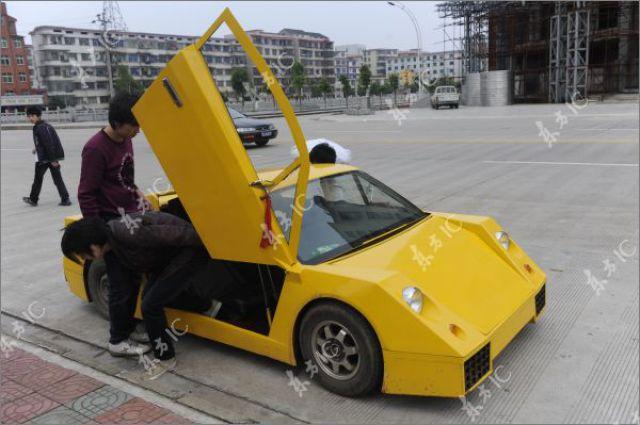 billiger chinesischer lamborghini nachbau billige autos infos news. Black Bedroom Furniture Sets. Home Design Ideas