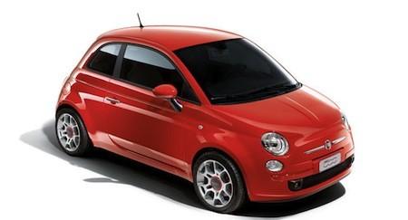 das sondermodell von fiat 500 der rosso corsa billige autos infos news. Black Bedroom Furniture Sets. Home Design Ideas
