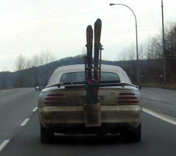 schi-transportieren