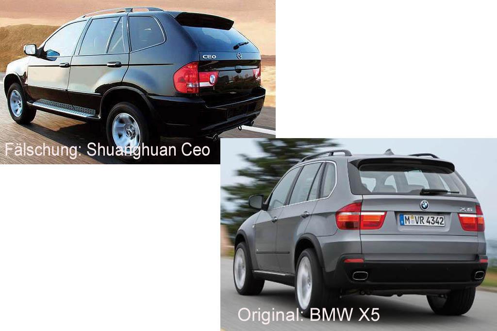 china-kopie-bmw-x5-falschung-shuanghua-ceo