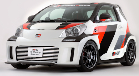 Auto Racing Stores Toyko on Toyota Iq Racing Concept