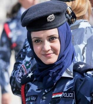 irakische-polizistin