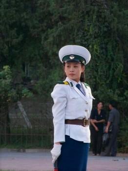 nord-korea-polizistin