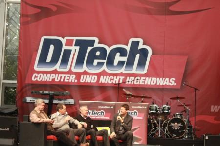 DiTech Racingshow 2012 Bühne