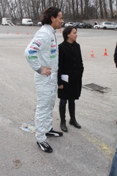 Racingshow Kris Rosenberger Tina Maria Monego