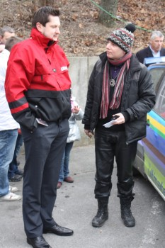 Racingshow DiTech-Boss Damian Izdebski Michael Noir Trawniczek