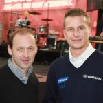 Racingshow Manfred Stohl Andreas Aigner