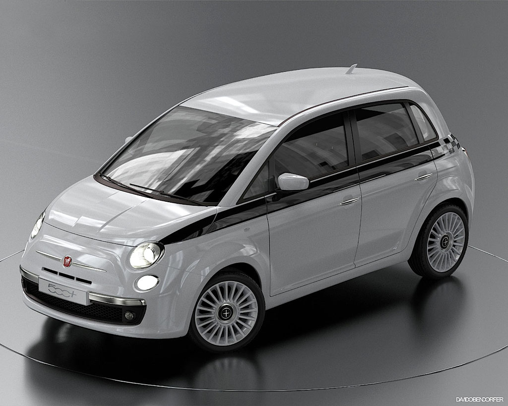 4 t riger fiat 500 mpv feiert premiere in genf billige autos infos news. Black Bedroom Furniture Sets. Home Design Ideas
