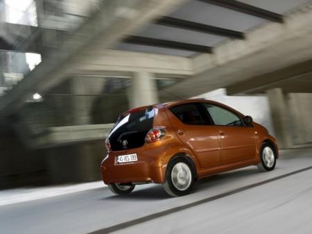 Toyota Aygo 2012 Heckansicht