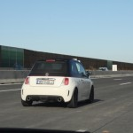 Fiat 500 Abarth Heck