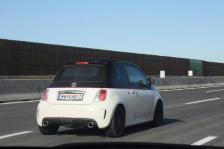Fiat 500 Abarth Seite