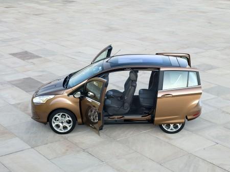 Ford B-Max Panorama Schiebetüren