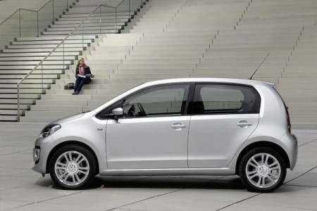 VW up! viertürer