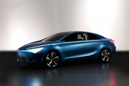 Toyota Yundong Shuangqingc hybrid concept