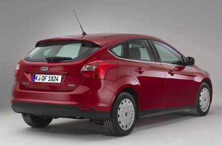 Neuer Ford Focus ECOnetic Heckansicht