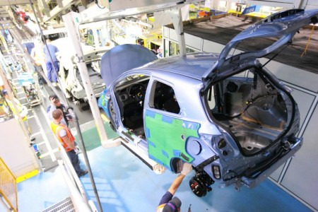 Toyota Yaris Werk