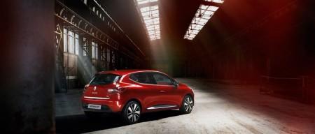 Renault Clio IV Heck Seite