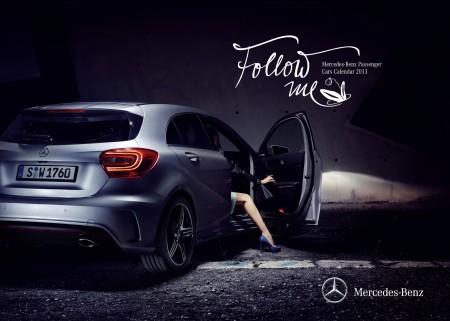 Mercedes-Benz A-Klasse Kalender Follow me