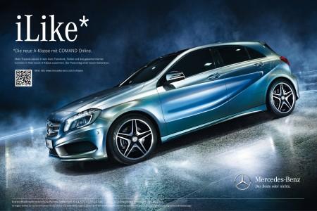 Mercedes-Benz A Klasse Werbung Print