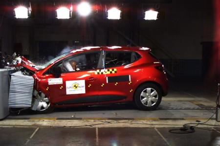 Renault Clio IV Euro NCAP