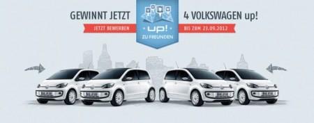 Volkswagen up! Freunden