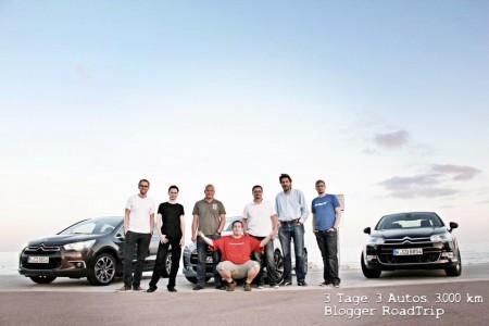 3 Tage 3 Autos 3000 km Blogger RoadTrip