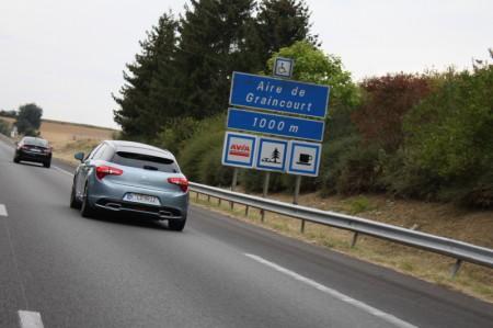 Blogger Road Trip Fahrt Citröen C5 DS5