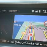 Citroen DS5 Navigationsgerät
