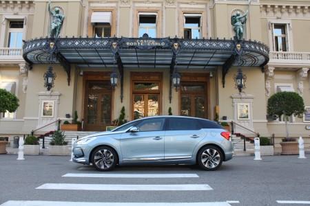 Citroen DS5 Monte Carlo Casino Monaco