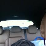Citroen DS4 Heckscheibe Rücksitze