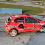 Race of Austrian Champions Michael Kogler mit Renault Clio R3