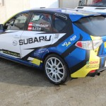 ROAC 2012 Subaru Neubauer Stohl Racing