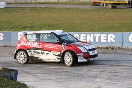 Martin Zellhofer mit dem Suzuki Swift