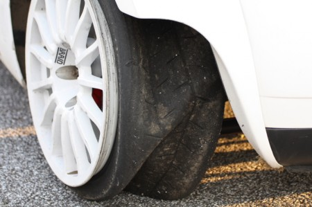 Race of Austrian Champions 2012 defekter Reifen kaputt Platten Kris Rosenberger VW Polo