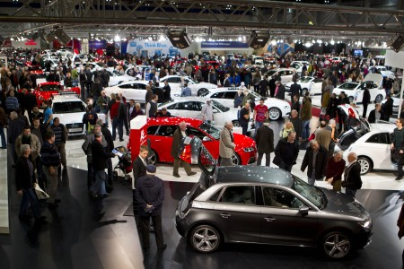 Vienna Autoshow im Messezentrum Wien Publikum Showroom