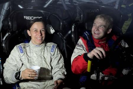 Rallye Wales/GB, zehnter Lauf zur Rallyeweltmeisterschaft 2012 Evgeny Novikov/Ilka Minor