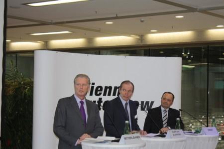 Vienna Autoshow 2013 Pressegespräch