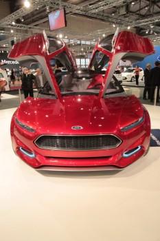 Vienna Autoshow 2013 Ford Evos Concept Car
