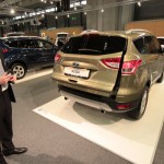 Vienna Autoshow 2013 Ford Kuga sensorgesteuerte Heckklappe