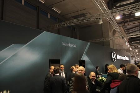 Vienna Autoshow 2013 Mercedes-Cafe