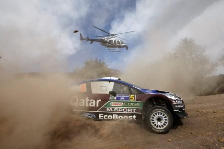 2013 Rally Mexico Ford Fiesta Qatar Novikov