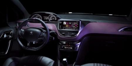 Peugeot 208 XY Sonderedition Innenraum