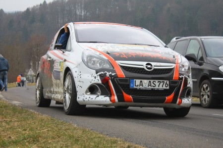 Rebenlandrallye Opel Corsa OPC 22