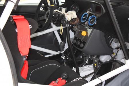 Rebenland Rallye Innenraum Opel Corsa OPC