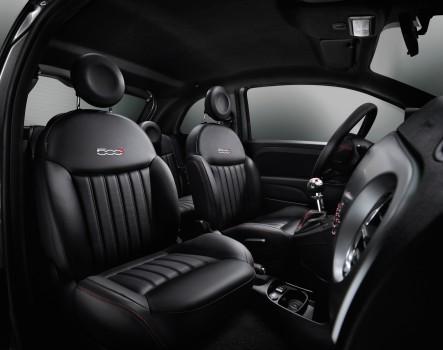 Fiat 500S Sitze