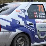 Lavanttal Rallye 2013 Dacia Logan Stäheli