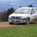 Lavanttal Rallye 2013 Dacia Logan Erich Monika Stäheli