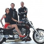 Motomotion 2013 Custom Bike Fotoshooting Motorrad