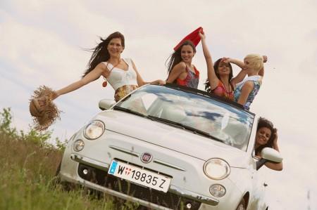 Fiat 500 Miss Austria